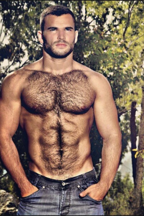 Gay very hairy