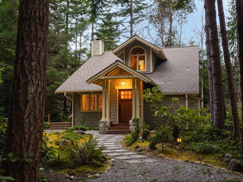 Pretty Small House Designs Traditional Exterior Seattle Home