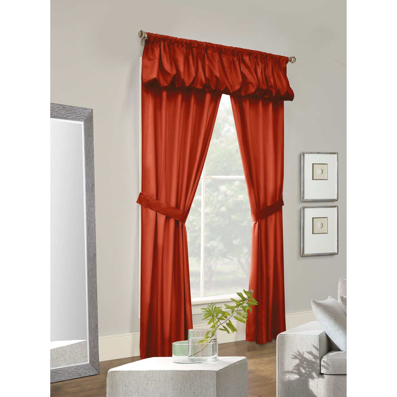 Thermalogic Prescott 5 Piece Solid Curtain Panel Set Panel