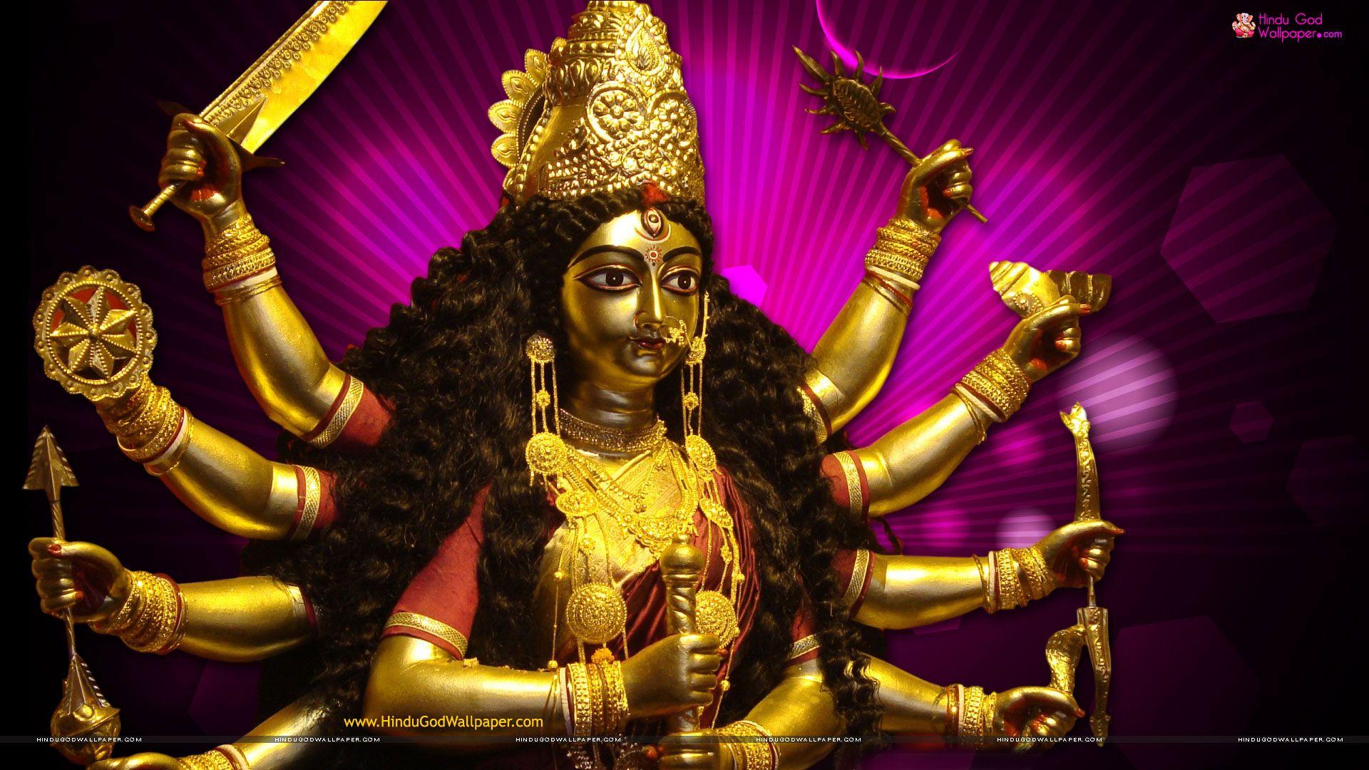 Goddess Durga Wallpapers High Quality Free Download Durga Durga
