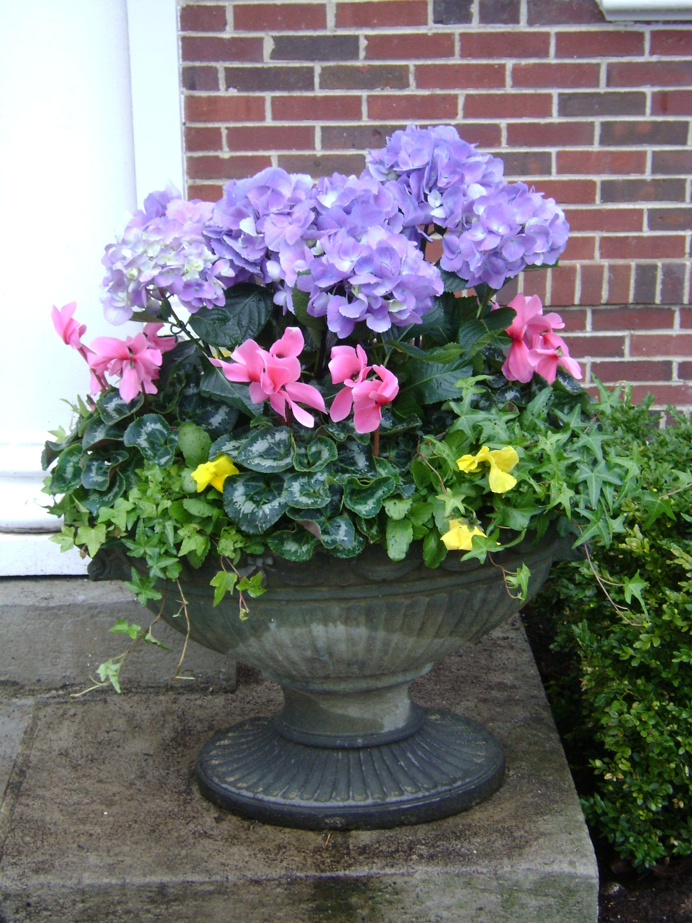Flower Arrangement Planter Flowers