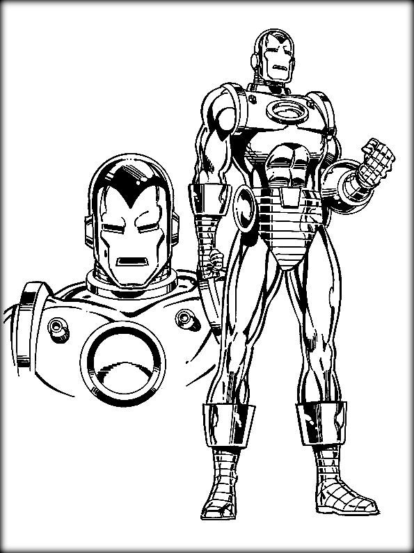 iron man coloring pages kids always like to color marvel superhero