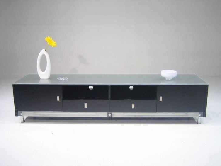 Portrayal Of Creative Low Profile Media Console For Small Living Room