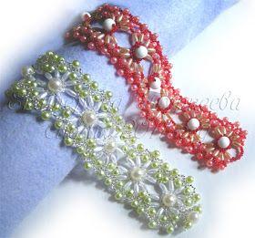 Pattern bijoux: Bracciale Openwork