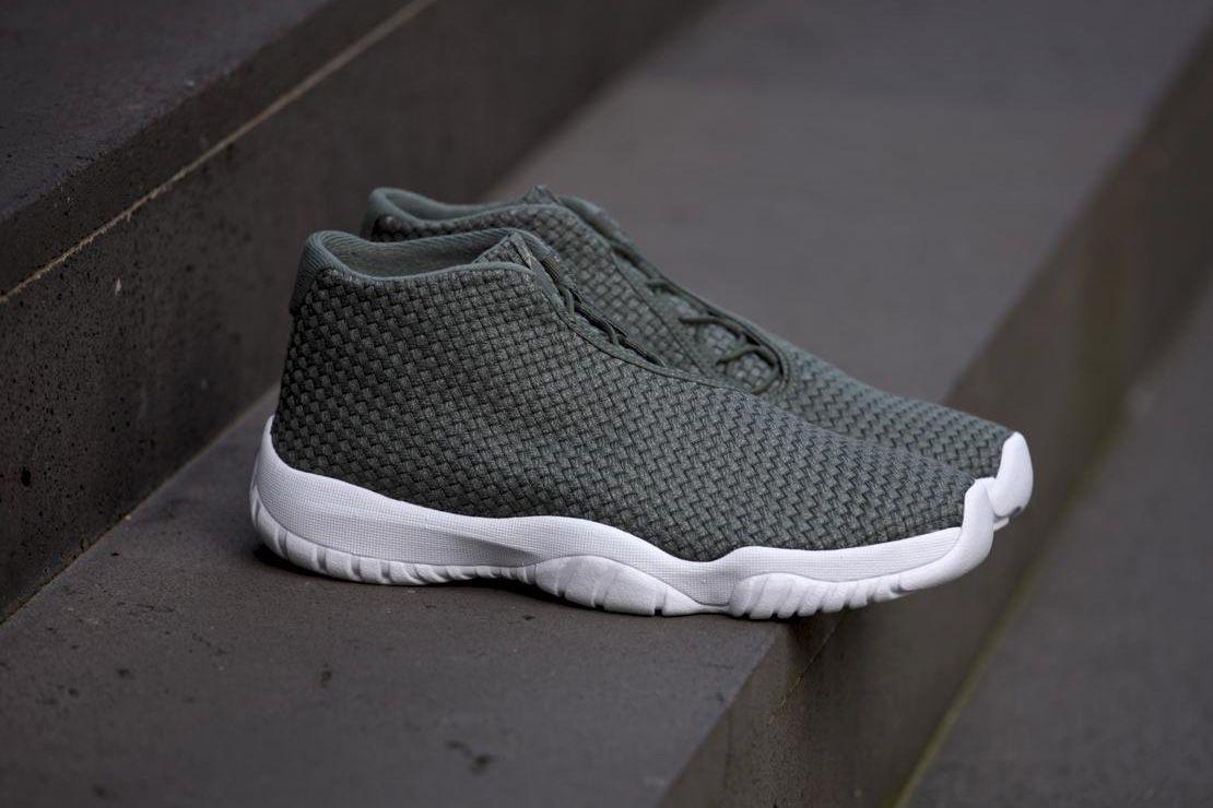 Air Jordan Future Grey And Green