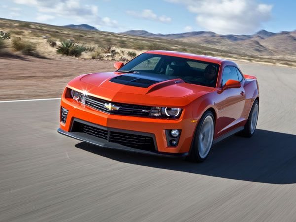 2012 Chevrolet Camaro Zl1 Test Drive Vehicles