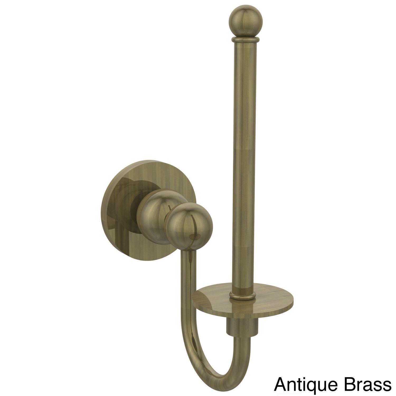 Allied Brass Bolero Collection Polished Brass Upright Toilet ...