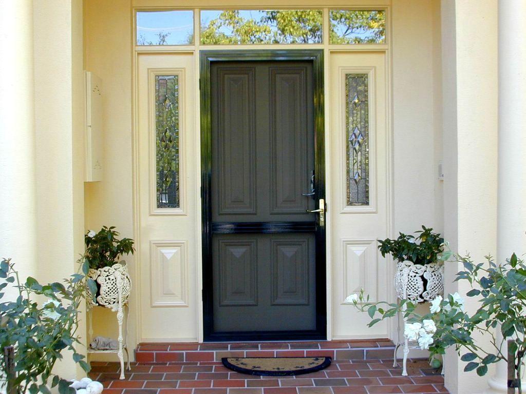Crimsafe screen doors google search exterior for Back door with window and screen
