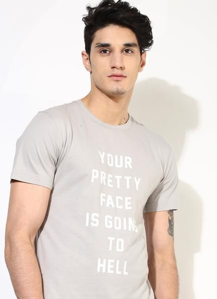 23d762989 Unisex Slogan T-Shirt | Grey Printed T-Shirt | Sustainable Fashion - Brown  Boy - Fair Trade Clothing for Men and Women #unisex #mensfashion  #ethicalfashion
