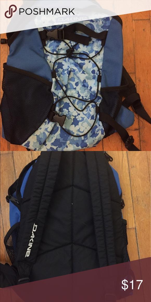 Blue backpack Blue Hawaiian sports bag- good for hiking Dakine Bags Backpacks
