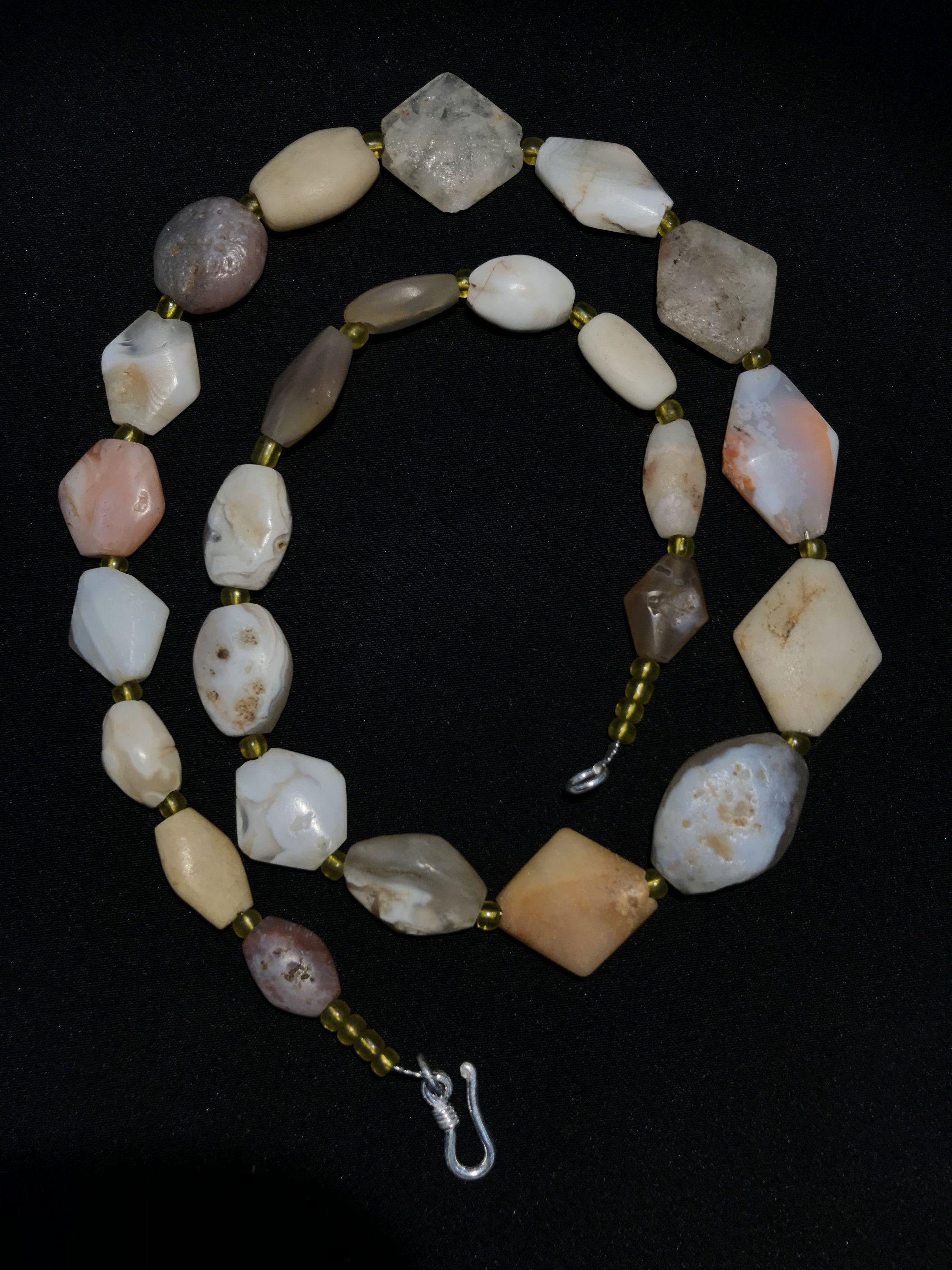Antique agate beads etsy in 2020 agate beads crystal
