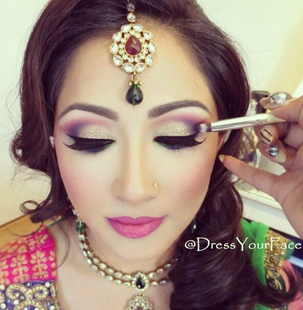 Asian Bridal Hairstyle : Asian bridal hairstyles pakistani indian wedding hair style