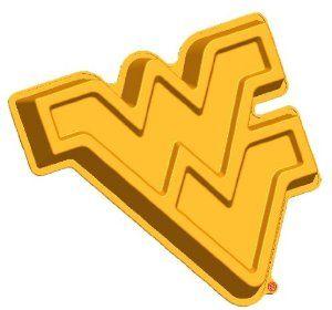 8a29115464 Amazon.com  West Virginia WVU Mountaineers Logo Cake Pan   Dessert Mold   Kitchen   Dining