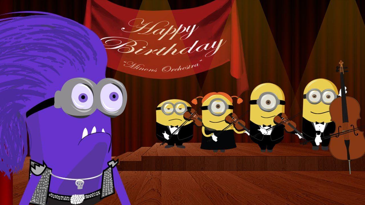 Minions Happy Birthday Song Crazy Funny War Edition [HD