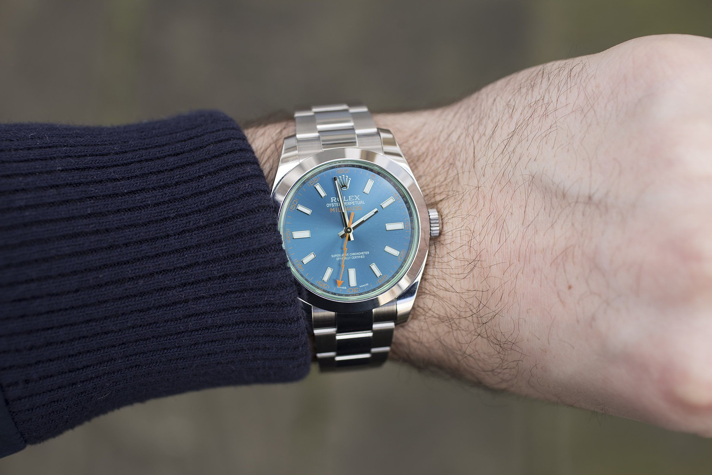 In,Depth The Rolex Milgauss Z,Blue Edition