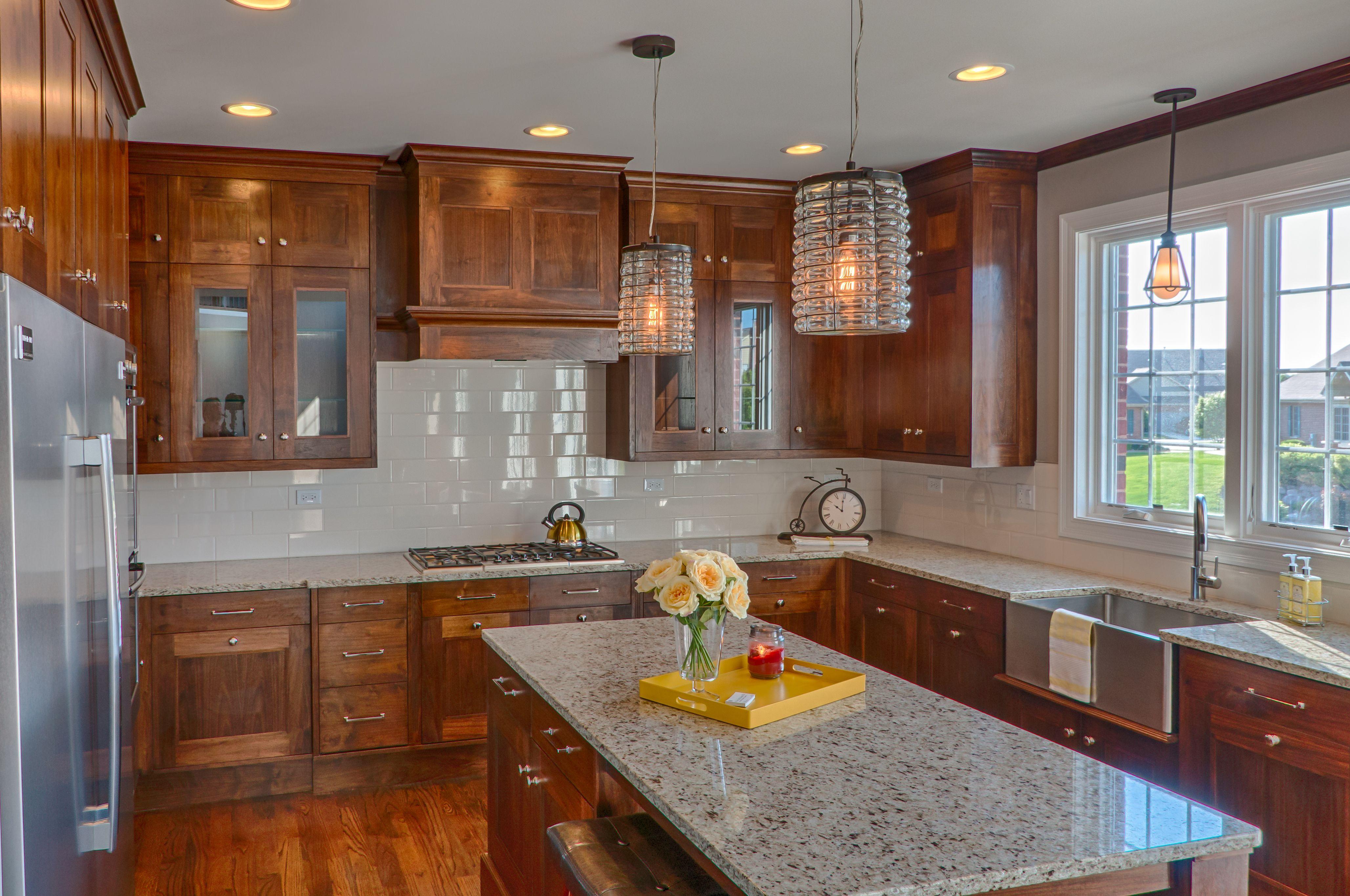 Sublime Homes Custom Walnut Kitchen #walnutcabinets # ...