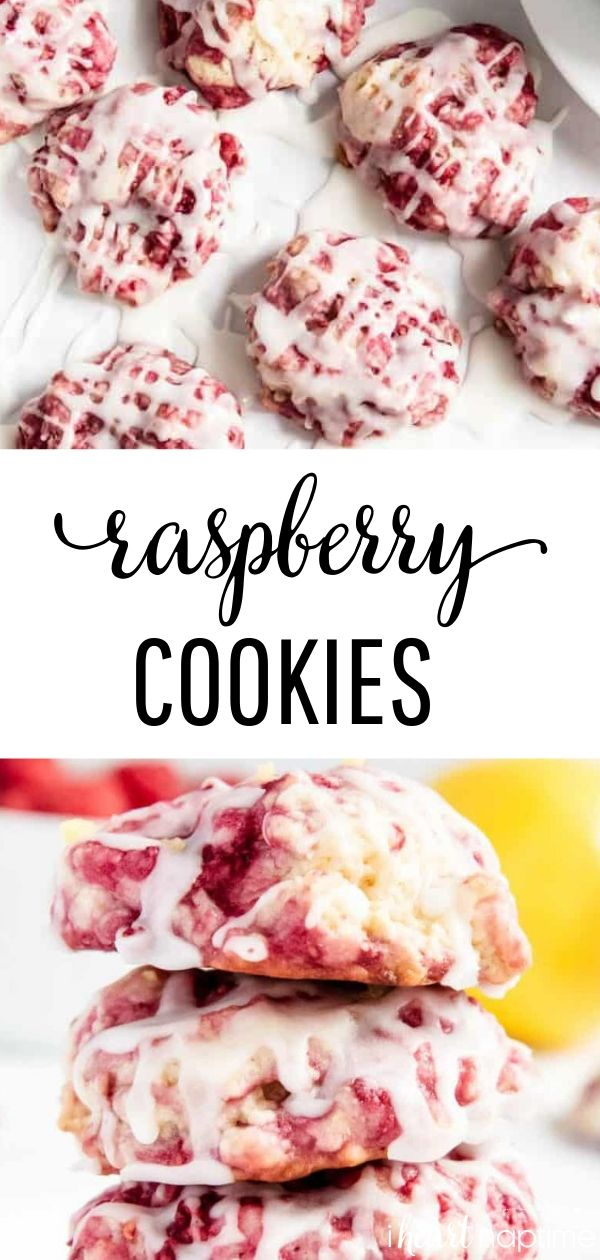 Photo of Glazed Raspberry Lemon Cookies