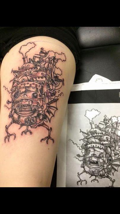 alice tattoo by randy
