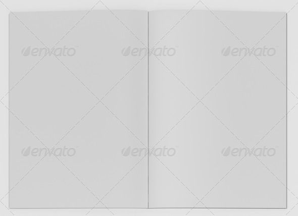 Stationary elements background, banner, blank, brochure - blank brochure