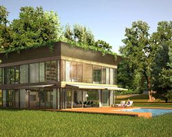 philippe starck designs pre-fab homes with riko