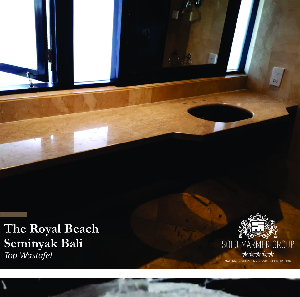 Corak Granit Our Project The Royal Beach Seminyak Bali Marmer Granit
