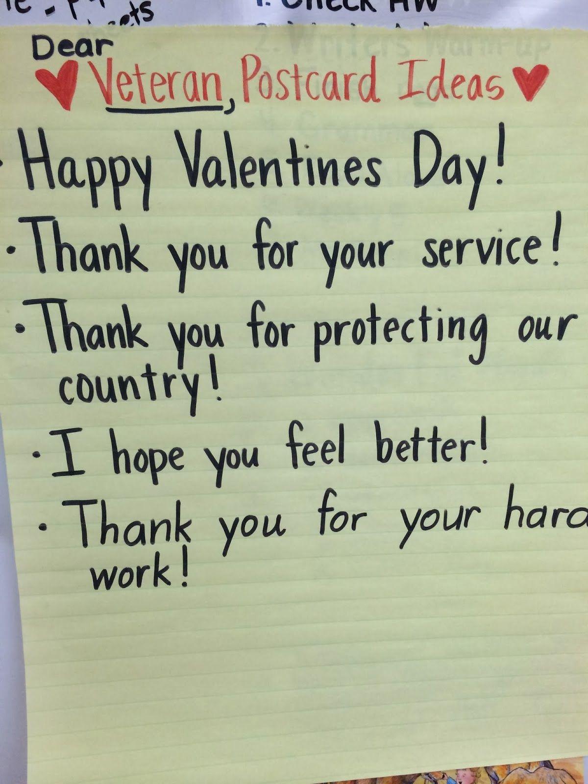 Valentine S For Veterans