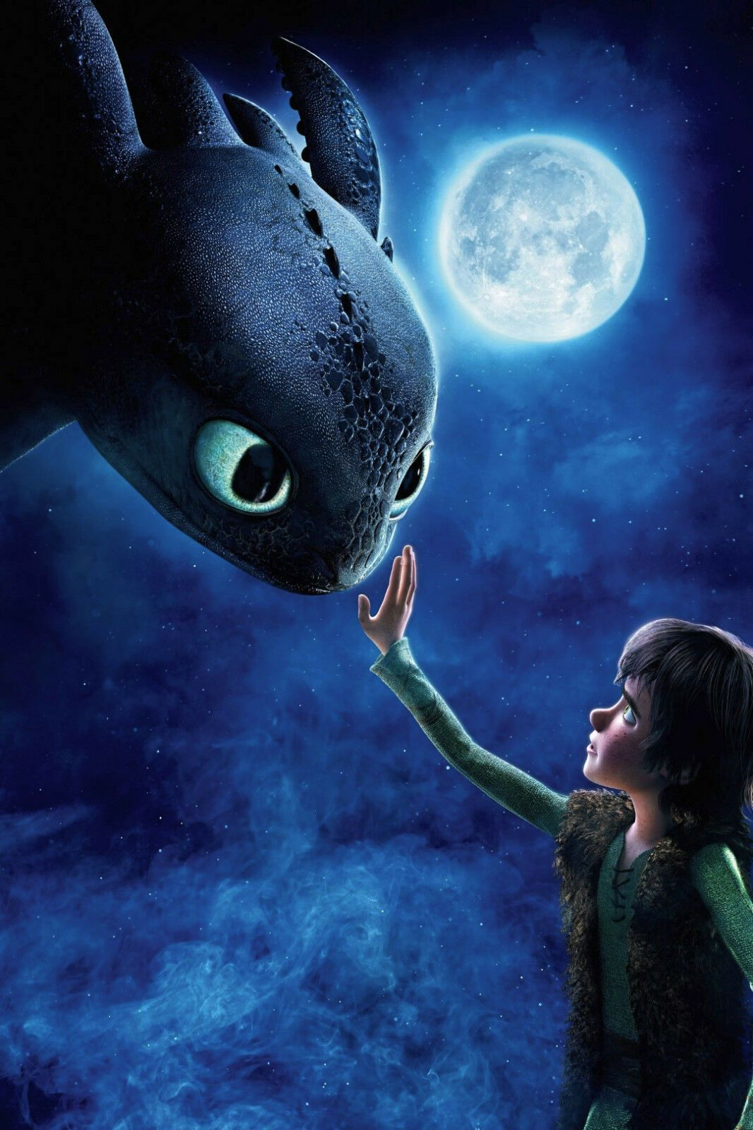 Details About New How To Train Your Dragon Hiccup Toothless Moon