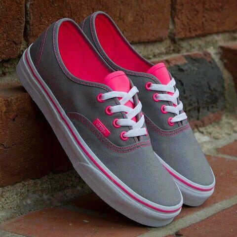 Pink vans, Shoes