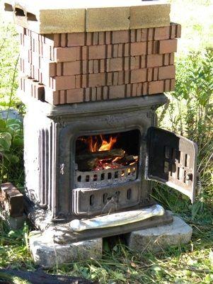 Homemade Pottery Kiln Plans Ehow Com Pottery Kiln Outdoor Wood Wood Kiln