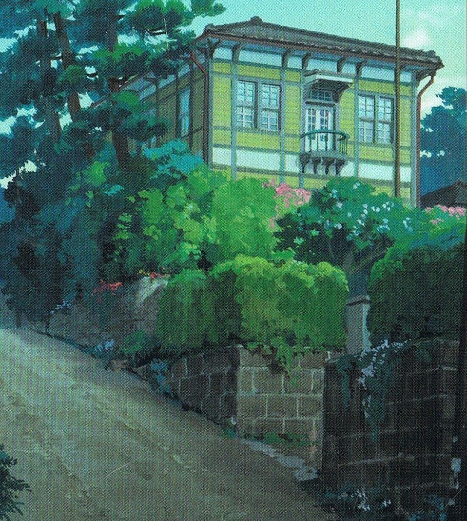 From Up On Poppy Hill, Studio Ghibli, Umi's house Studio