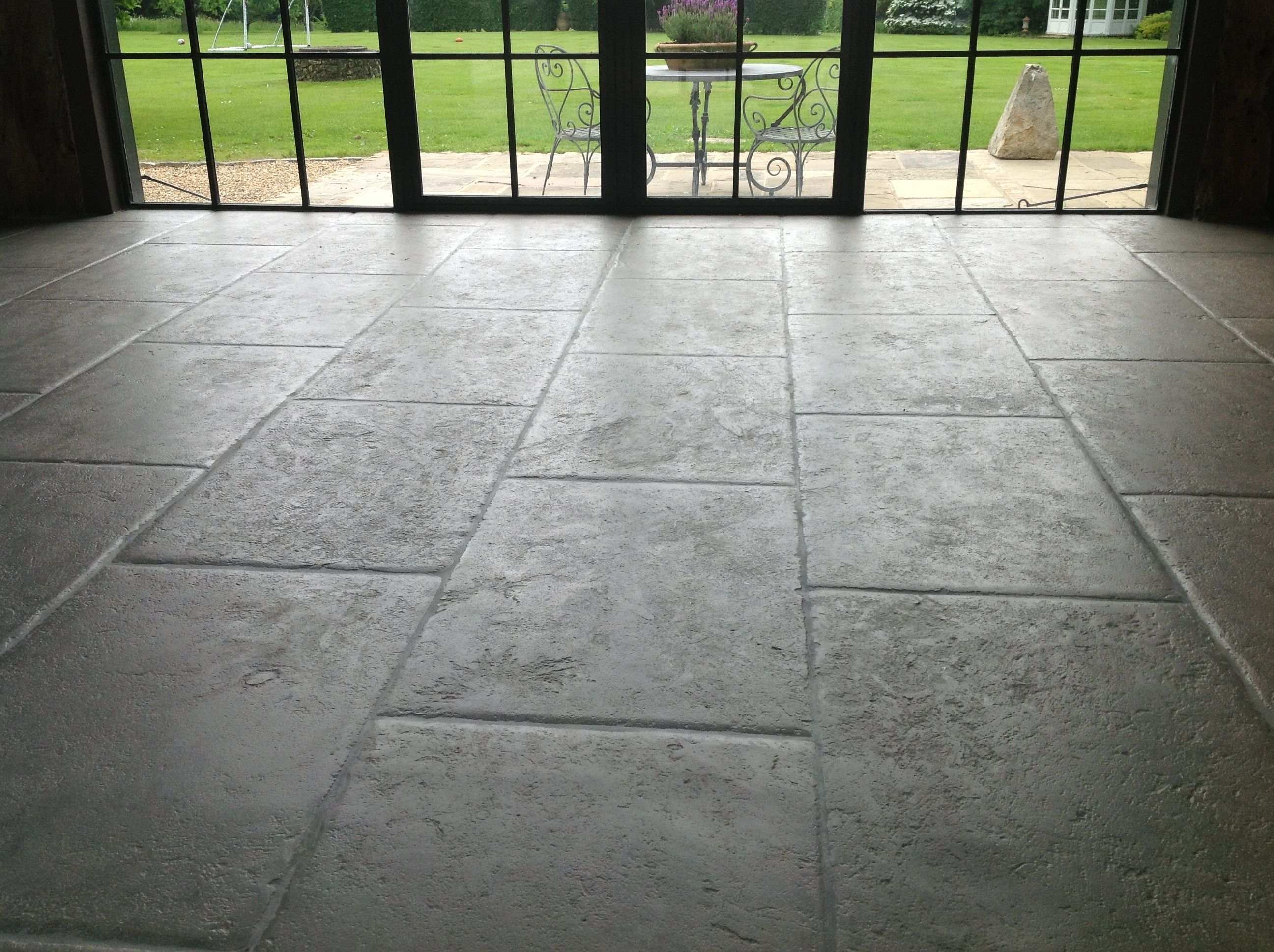 Antiqued grey barr stone flooring each piece is a true hand crafted antiqued grey barr stone flooring each piece is a true hand crafted floor tile dailygadgetfo Images