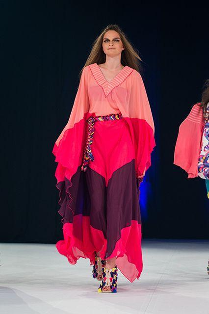 My collection Mesmerize.#color #fashion #pattern #voile #chiffon #colorblock #kaftan