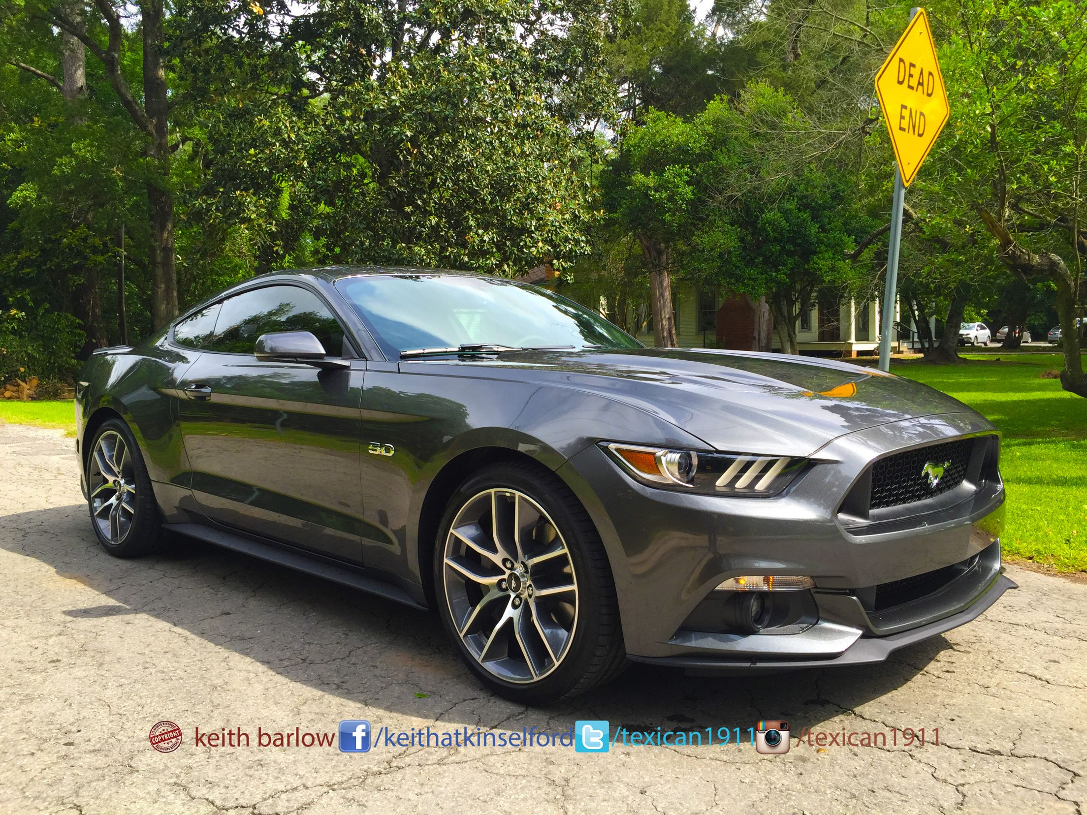 2015 Gt Mustang Ford 401a 20 Foundry Wheels In Magnetic