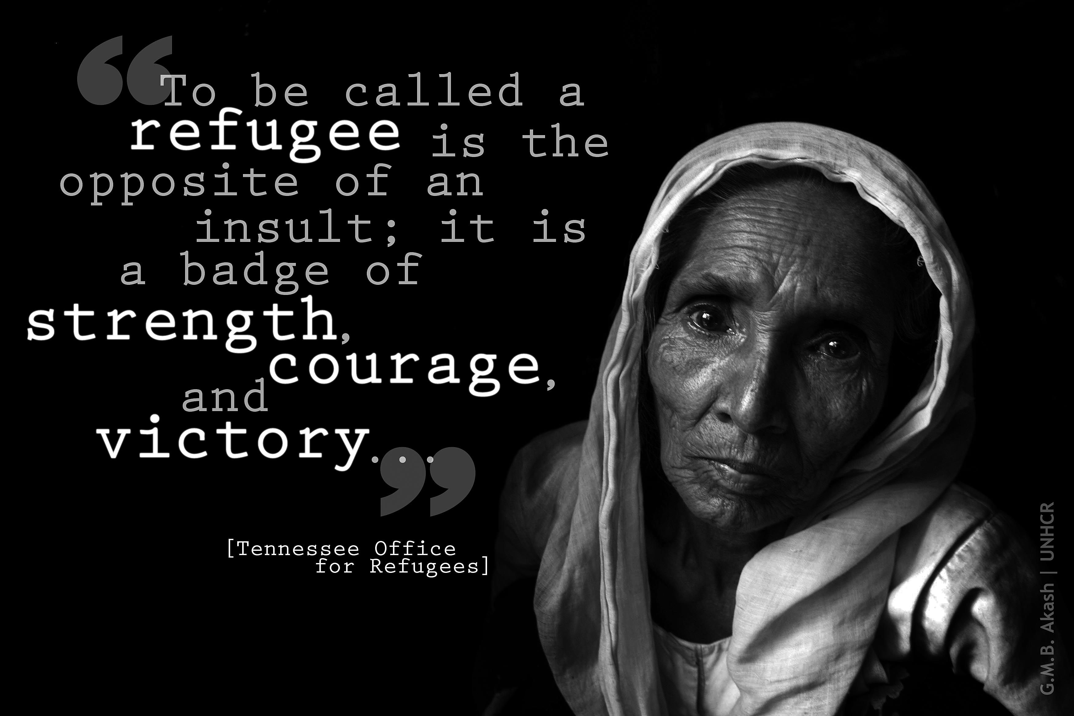 To Be Called A Refugee...#quote
