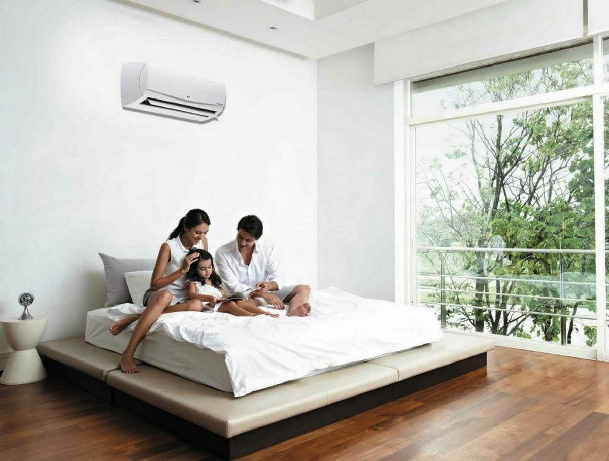 Split Unit Air Conditioner As Nice Helper For Family Heating And