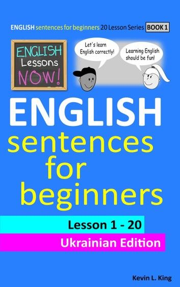English Lessons Now  English Sentences For Beginners