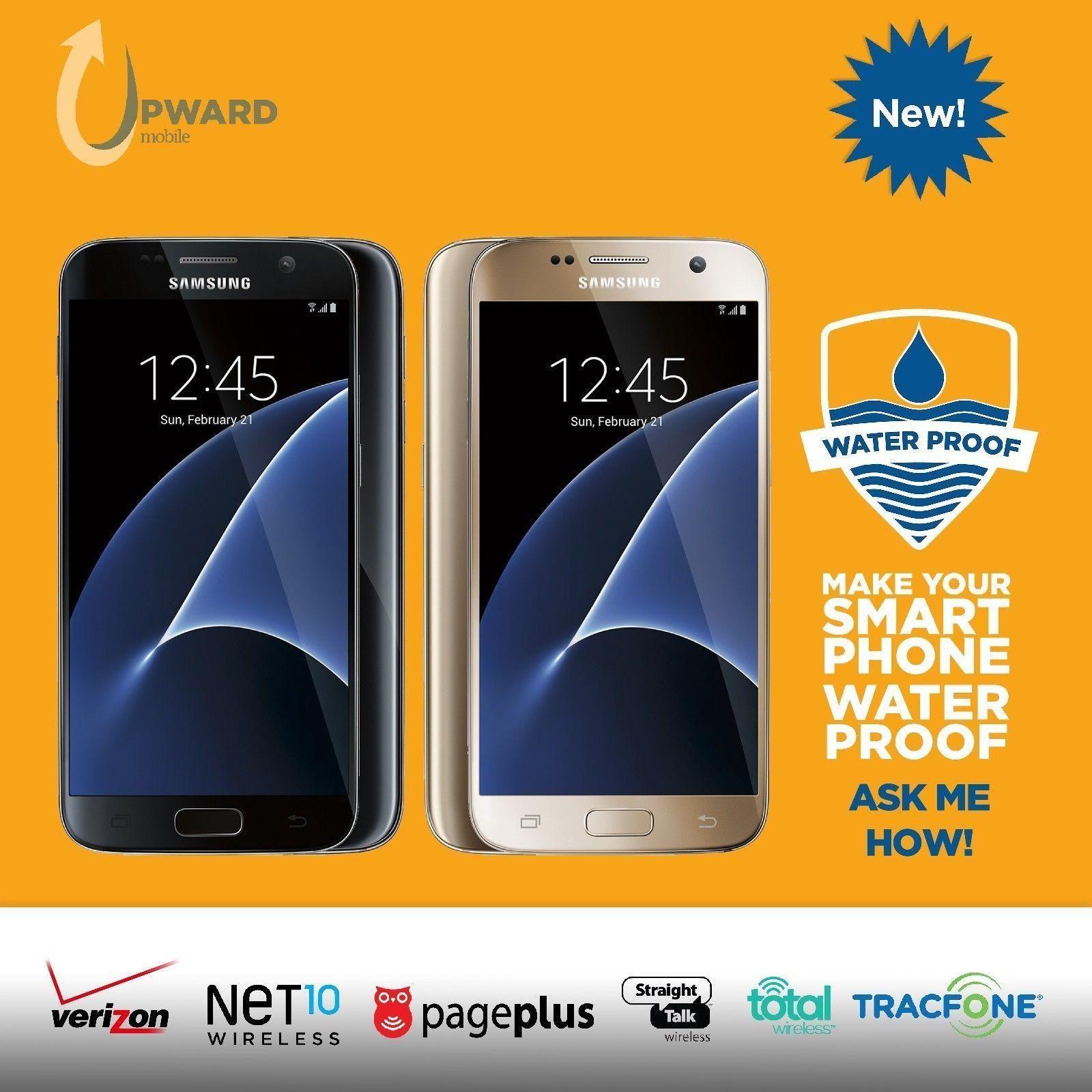 Samsung Galaxy S7 32GB Verizon Straight Talk Net10 PagePlus Tracfone