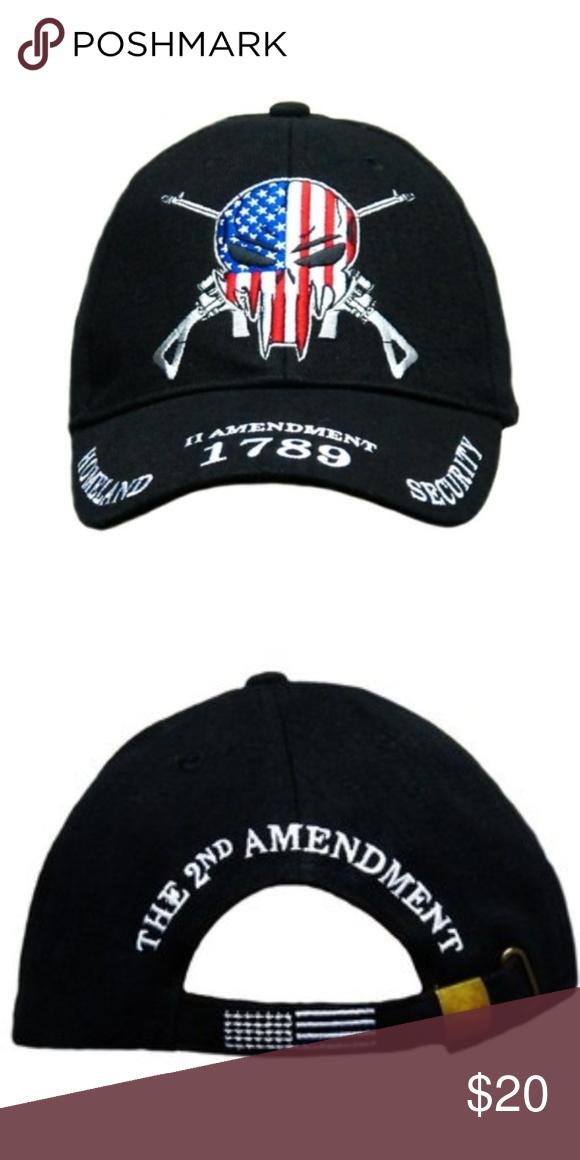 210e1e5392c 1789 2nd Amendment Homeland security Cap The 1789 Homeland Security 2nd  Amendment Cap fueatures a six