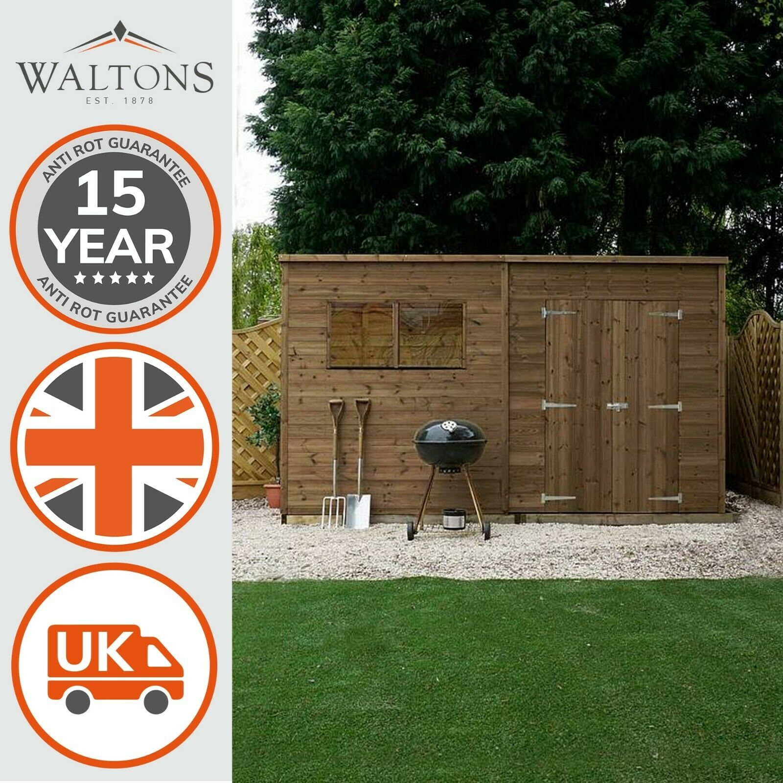 12ft X 12ft Shed In 2020 Wooden Workshops Shed Wooden