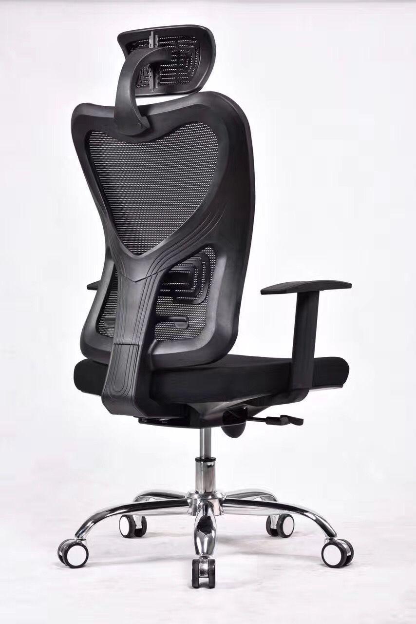 black fabric plastic mesh ergonomic office. Armrest Contolling High Grade Ergonomic Office Chair In Full Mesh Finish Black Fabric Plastic Y