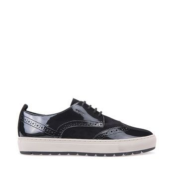 Explore Breeda women's moccasins & lace ups in black. Wide selection and Free returns at Geox.com.