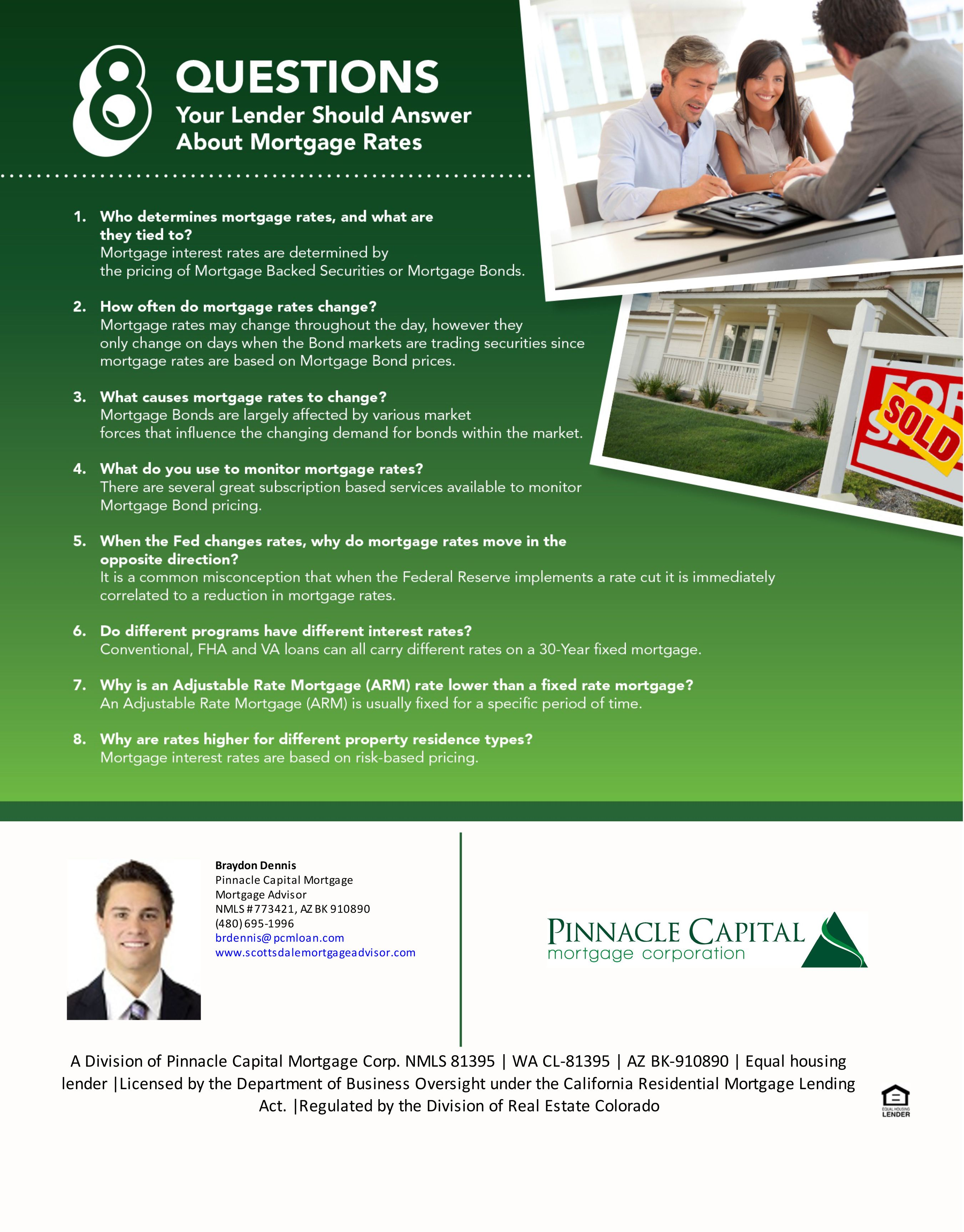 Questions To Ask Your Loan Originator Mortgage Process
