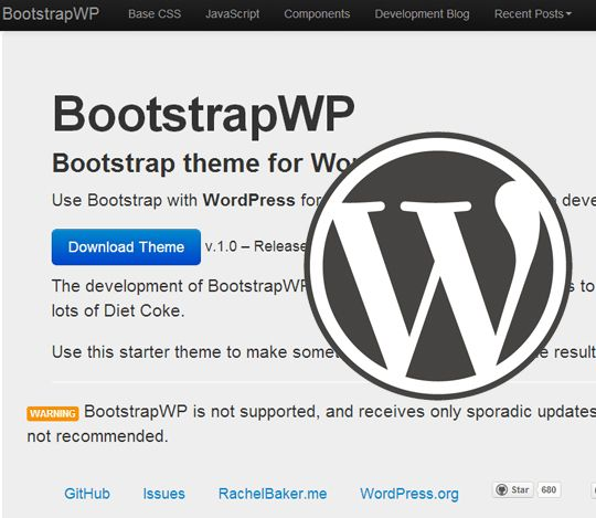 Twitter Bootstrap Themes for WordPress: Free Downloads | Twitter ...