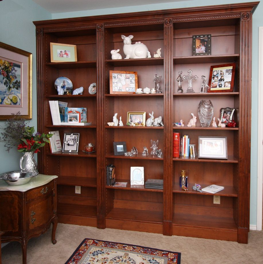 Exceptional Bookcase Plans | Custom Home Media Center Designs   Classy Closets