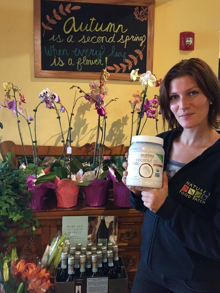 Jamie's fav non-gmo item is Nutiva coconut oil!
