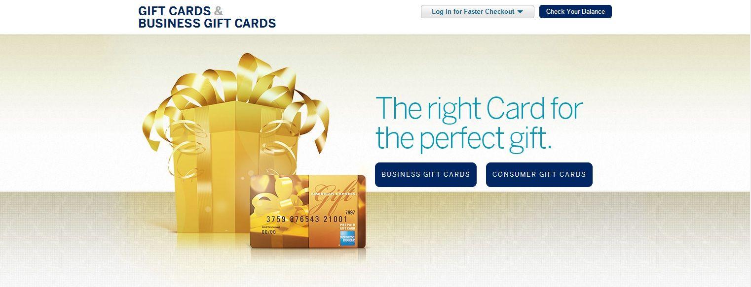 American Express Mybusiness Geschenkkarte Sowie American