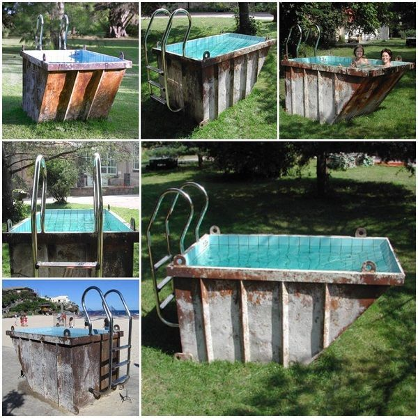 conteiner-pooljpg (600×600) Garten Pinterest Diy swimming