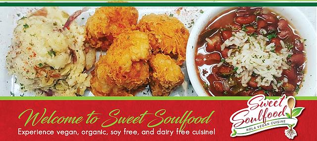 Sweet Soulfood New Orleans Vegan Restaurant In 2020 Guilt Free Recipes Cuisine Vegan Restaurants