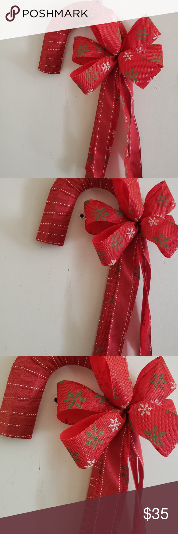 Hottest Pictures Candy Cane Wreath, Candy Cane Door Hanger Christmas Ribbon, Metal Frame Be the s...  Strategies  Your individual door hanger Sure, the classic is obviously the door pendant, in which on the leading #Candy #Cane #christmas #Door #Frame #Hanger #Hottest #Metal #Pictures #ribbon #Strategies #Wreath #smallapartmentchristmasdecor