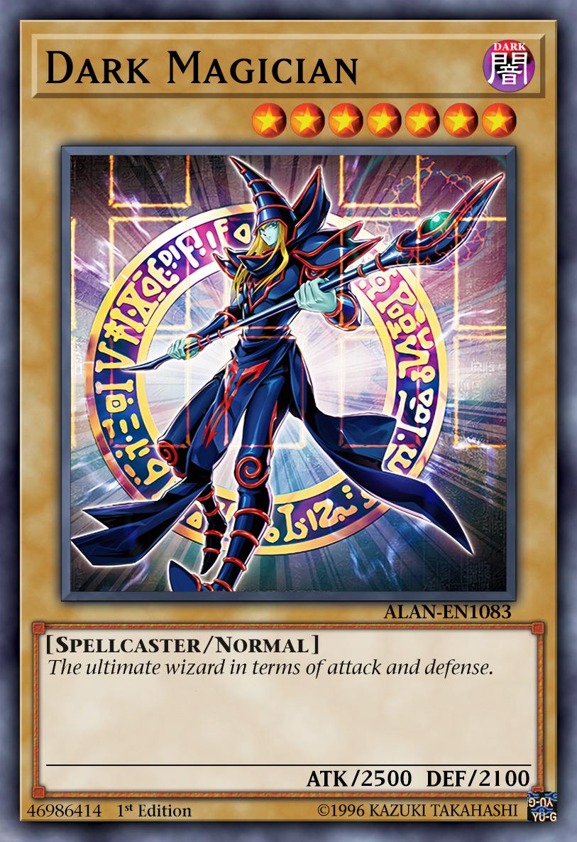 Dark Magician 8th Artwork By Alanmac95 On Deviantart Yugioh Dragon Cards Custom Yugioh Cards Dark Magician Cards